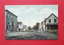 AK CLINTON ME. USA um 1930 Railroad St. Looking North  ( 39012