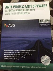 AVG Antivirus & Anti Spyware 2009- New Sealed