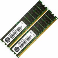 Memory Ram 4 Hp ProLiant Server DL580 G3 G4 ML570 2x Lot DDR2 SDRAM