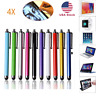 4X for IPad IPhone IPod Tablet Smartphone PC Universal Touch Screen Stylus Pens