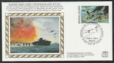 Americans Land on Kwajalein Atoll, Marshall Islands FDC