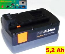 PROTOOL/Festool Batteria 18 V Li - 5,2 Ah SAMSUNG/CELLULE Sony 5200 mAh
