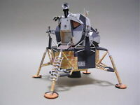 1:48 Scale NASA Moon Spaceflight Apollo 11 DIY Handcraft Paper Model Kit