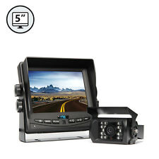 "Backup Camera System 130° View 50ft Night Vision & 5.6"" TFT LCD Screen Monitor"