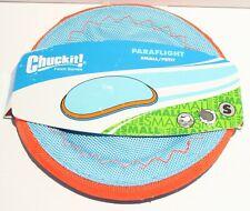 ChuckIt Paraflight Frisbee Interactive Flying Dog Toy - Small