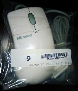 Microsoft IntelliMouse PS/2 w/ 9pin Serial Adapter (P/N 68874) OEM NEW OLD STOCK