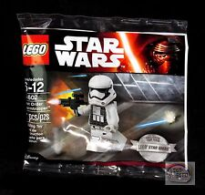 LEGO Star Wars - First Order Storm Trooper - 30602 - EXCLUSIVE Minifigure - New