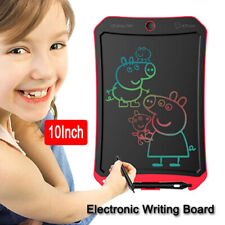 "1 Set High Quality Portable Handwriting board Pads 10"" LCD Color Screen for Kids"
