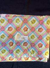 """Monkeys Nursery Cotton Fabric 52"""" long by 45"""" wide"""