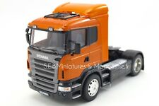 CAMION SCANIA R470 ORANGE - 1/32 WELLY