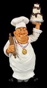 Küchenchef Figur - Lustiger Berfu - Funny Job - Koch Geschenk Spaß Fun Witzig