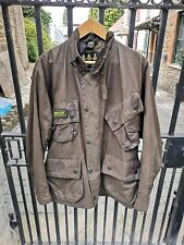 Barbour A1700 duracotton International wax jacket C44 brown