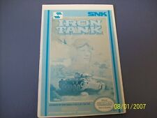 IRON TANK NES 8 Bit Nintendo Vidpro Card