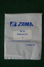 GENUINE ZAMA CARBURETOR REPAIR KIT # RB-78 for C1U-W7 A B