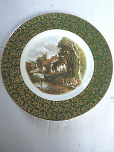 VINTAGE 1950s-1960 WALL PLATE COTTAGE  WOOD & SONS