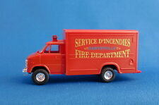 TRIDENT 90375 CHEVROLET VAN FIRE DEPARTMENT SAWYER 1:87