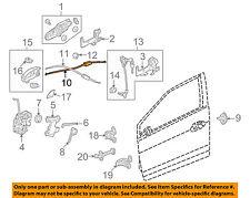 Genuine Honda 72633-TM8-A01 Door Lock Cable