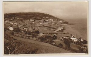 Cornwall postcard - General View, Mousehole - (A342)