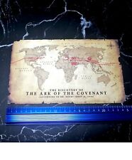 1/6 hot toys dx05 indiana jones action figure accessory map paper