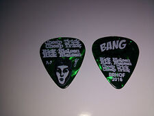 Cheap Trick Rick Nielson Guitar Pick Green Fleck Bang Rrhof 2016