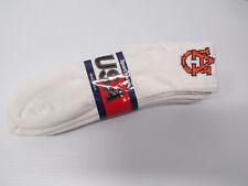 3 pairs Collegiate AU Alabama College Auburn Tigers Socks Mens's Shoe Sz 10-13
