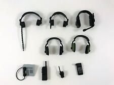 "GI Joe Ultimate Soldier 12"" Figure Accessories Headphones Telephone Radios Lot"