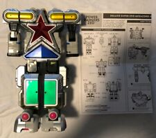 New listing 1995 Bandai Mmpr Power Rangers Deluxe Super Zeo Megazord with Instructions