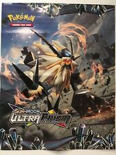 "POKEMON SUN & MOON ULTRA PRISM POSTER / PLAY MAT 24"" x 19""  TOYS""R""US EXCLUSIVE"