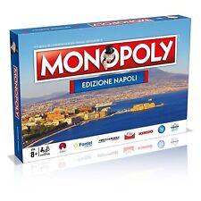 Winning Moves 31110 Gioco da Tavolo - Monopoly Città di Napoli Edizione da Colle