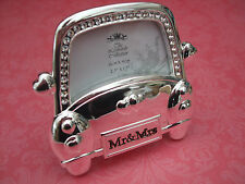 Wedding Car Silverplated Photo Frame