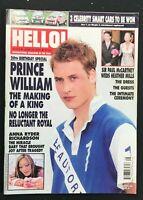 HELLO MAGAZINE - June 25 2002 - PRINCE WILLIAM / Paul McCartney