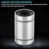 8pcs LM6UU 6mm Linear Motion Steel Ball Bearing Bushing for 3D Printer CNC Parts