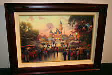 Thomas Kinkade Disneyland 50th Anniversary 18x27 Renaissance Edition 39 / 160