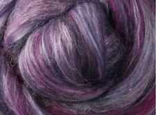 "SILK MERINO Sliver blend by Ashford NZ  ""JUNIPER""  for spinning felting 100gms"