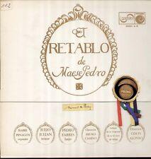 De Falla-El retable de Maese pedro, rare LP, penagos, Julian, Camino, Alonso