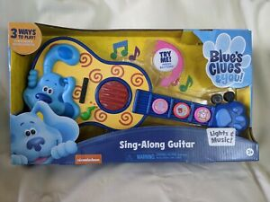 Blue's Clues Sing-Along Guitar - New in Box - 3+