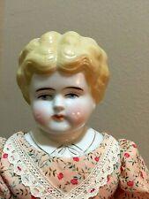 "Blond Pet Name China Head Doll - HELEN,  Ca. 1905, 18"", Germany"