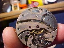 vintage 37.5mm Paul Ditisheim 16J OF pocket watch movement high grade