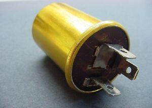 12V Turn Signal Flasher 3 Terminal Prong Mopar 12 Volt Hazard Flasher Relay NOS