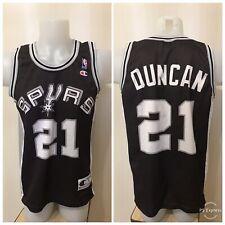 San Antonio Spurs #21 Tim Duncan Size S Champion basketball shirt jersey maillot