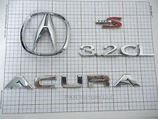 Acura 3.2CL 2003 type s 3.2 CL rear trunk emblem badge logo set oem genuine