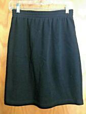Women's Weekenders Black Knee Length Skirt Size M -PreOwned (D32)