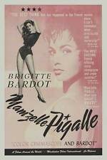 MAM'ZELLE PIGALLE Movie POSTER 27x40 Brigitte Bardot Jean Bretonni re Fran oise