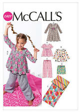 McCall's Sewing Pattern M6643 SZ 3-6 Childs pullover DressTop Pants Sleeping Bag