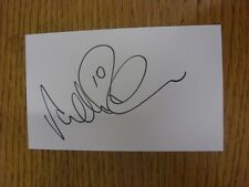 """2013/2014 Tranmere Rovers: Robinson, Andy [Autographed White Card 5""""x 3""""]. Condi"""