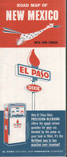 1961 El Paso Natural Gas Products Road Map: New Mexico NOS