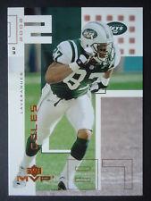 NFL 165 Laveranues Coles New York Jets Upper Deck MVP 2002