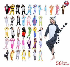 Nightwear Animal Pajamas Kigurumi Cosplay Onsie1 Costumes Adult Jumpsuit Outfit
