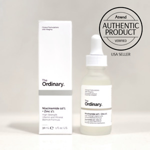 The Ordinary Niacinamide 10% + Zinc 1% 30ml | USA SELLER | Authentic Product