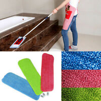 3Pcs/Set Mop Replacement Pad Refill Head Microfiber Cloth Cleaning Floor Wet/Dry
